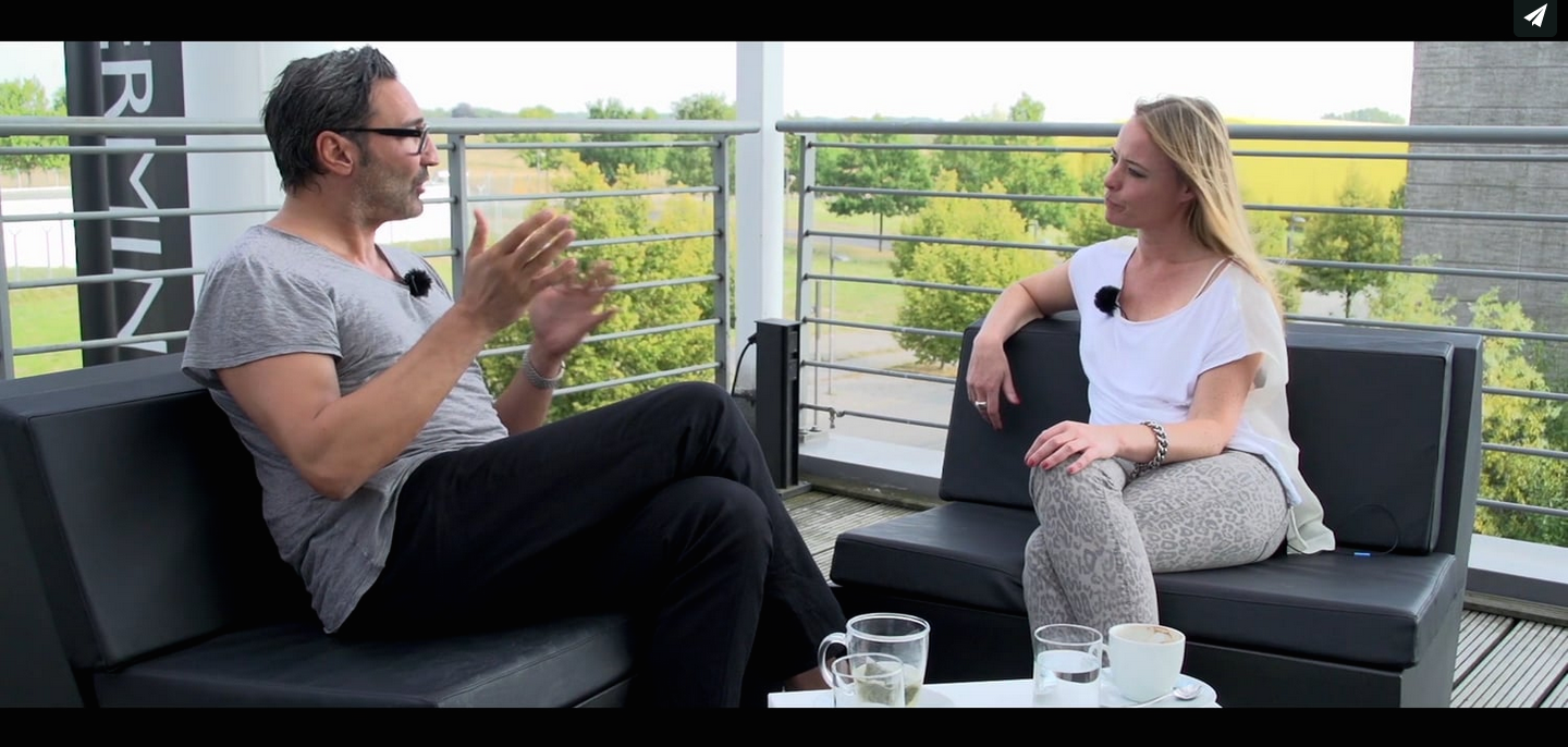 Interview Mousse T. und Nina Stromann